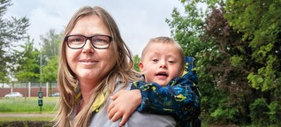 Schwanger mit behindertem Kind - ihr Mann verließ sie