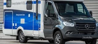 Daimler baut Wasserstoff-Wohnmobil
