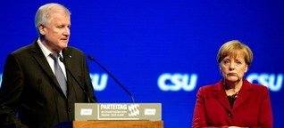 Merkel und Seehofer:  Chronik einer zerrütteten Beziehung