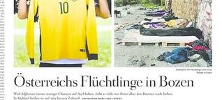 Österreichs Flüchtlinge in Bozen