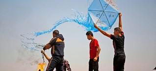 Gefährliche Drachen aus dem Gazastreifen