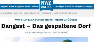 """Interview mit Reporter Karsten Krogmann (Nordwest Zeitung) über die Multimedia-Reportage """"Dangast – Das gespaltene Dorf"""""""