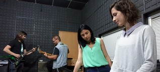 Wie eine Musikschule die Spaltung des Kosovo überwinden will