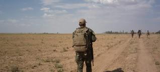 Wie es ist, als Ex-Bundeswehr-Soldat in den syrischen Bürgerkrieg zu ziehen