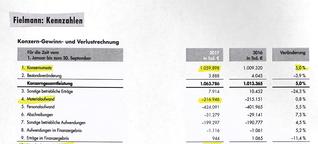 Fielmann: Blick in die Bilanz