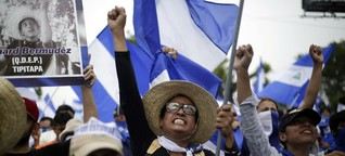"""Nicaragua: """"Ortega will den Widerstand mit Feuer und Schwert brechen"""" - SPIEGEL ONLINE - Politik"""