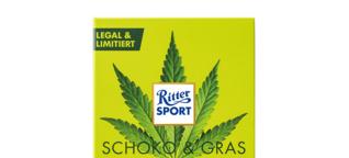 Ritter Sport verkauft Hanf-Schokolade