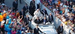 Die Ministranten feiern mit Papst Franziskus ihr eigenes Fest