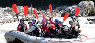 Teambuilding in der Fußball-Bundesliga sollte mehr sein als Rafting