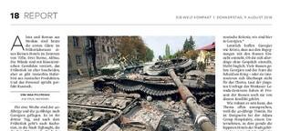 Georgien: Russischer Tourismus in Tiflis 10 Jahre nach dem Augustkrieg