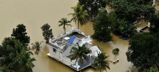 """Jahrhundertflut in Südindien - """"Die Schäden sind riesig"""""""