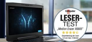 Leser-Test: Medion Erazer X6805