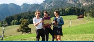 Den Spirit von Alpbach in die Welt tragen