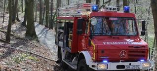 Großflächige Brandgefahr in NRW-Wäldern