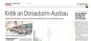 Kritik am Donauturm-Ausbau