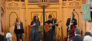 Südländische Klänge in Streichener Kirche
