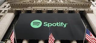 Die Majors hielten Spotify-Anteile in Milliardenhöhe