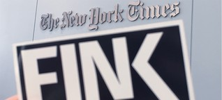 "FINK goes ""New York Times"" 