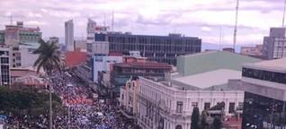 Gewerkschaften im öffentlichen Dienst von Costa Rica in Generalstreik