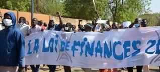 Proteste und Verhaftungen in Niger | DW | 06.04.2018