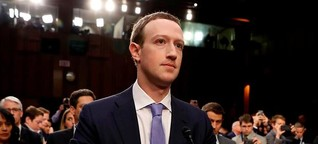 Datenskandal: Facebook-Chef Zuckerberg hat bei der Befragung des EU-Parlaments wenig zu befürchten
