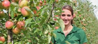 Wie eine junge Frau in der vermeintlichen Männerdomäne Landwirtschaft arbeitet