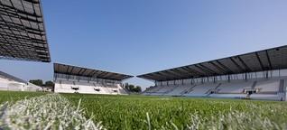 Der Betreiber des Stadions Essen in Bergeborbeck freut sich sehr, dass die Fußball-Europameisterschaft 2024 in Deutschland stattfindet.