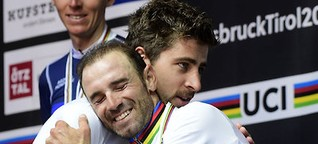 """Sagan mit großer Geste: """"Du bist der richtige Weltmeister"""""""