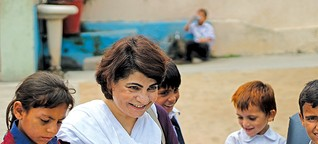 In Pakistan, she sees the value in children who 'are never seen or heard'
