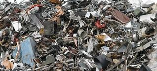 Elektroschrott ... iger geht immer / Philipp Sommer Deutsche Umwelthilfe