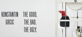 "Konstantin Grcic: ""THE GOOD, THE BAD, THE UGLY"""