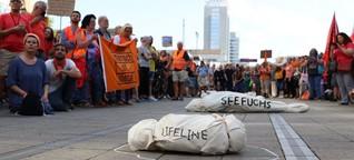Eine humanitäre Flotte zur Bewältigung der Krise