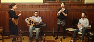 Zwischen Klezzmer, Jazz und arabischen Klängen