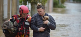 Flash Floods Hit South-West France, 13 Killed