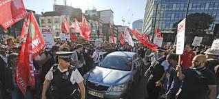 Großbritannien: Rebellion der Niedriglöhner