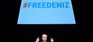 Jan Böhmermann singt in Frankfurt für inhaftierten Journalisten Yücel | hessenschau.de | Kultur