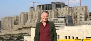 Wie sich ein Hügel im Westjordanland in eine Stadt verwandelt