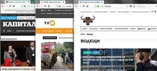 Drohungen gegen kritische Journalisten in Bulgarien