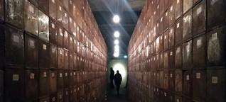 Erinnerungsort für die Zwangsarbeiter der Völklinger Hütte