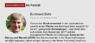 Im Porträt Burkhard Behr