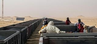 Der Eisenerz-Zug nach Zouérat - Mauretaniens Lebensader