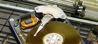 Mit Software oder Hammer: Daten sicher löschen