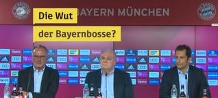 FC Bayern in Angriffsstimmung