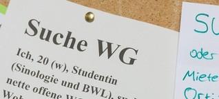 WG-Zimmer und Wohnungen: So viel Miete zahlen Studenten mittlerweile