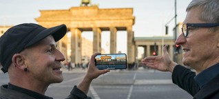 """""""MauAR"""" - Eine App, mit der ein historisches Haupstadtgefühl ensteht"""
