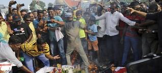 Verfassungskrise in Sri Lanka: Machtkampf auf der Tropeninsel