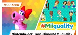 Nintendo und LGBTQI - Vom Trans-Dino bis zur Miiquality
