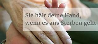Sterbeamme: Sie begleitet dich in den Tod | Frankfurter Neue Presse