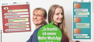 So lernte meine Mutter Whatsapp
