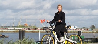 Obike im Test: Eine Tour mit dem ausrangierten Leihfahrrad durch Hamburg